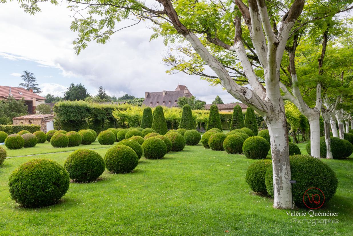 Jardins du Relais et Château à Trémolat, en Dordogne | © Valérie Quéméner - Réf : VQFR24-0313