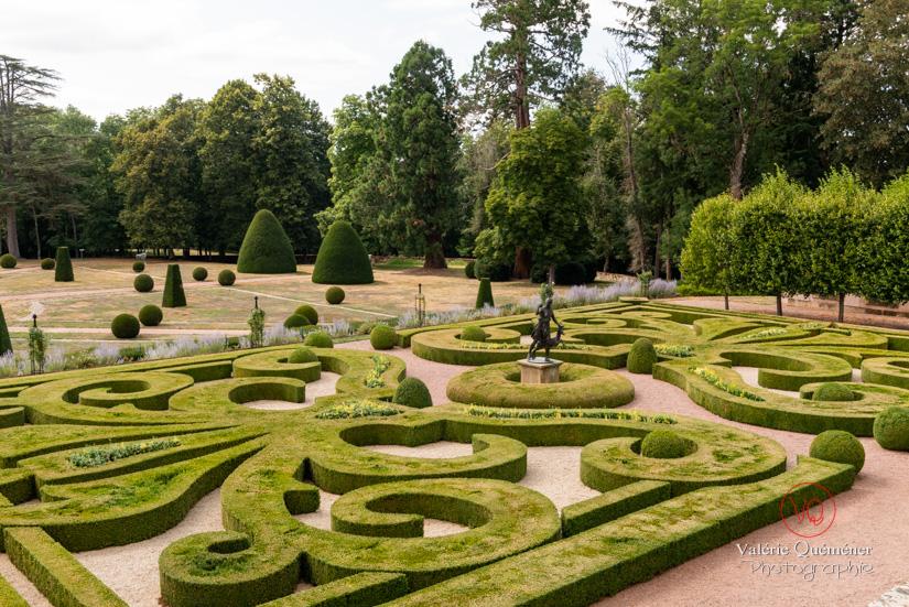 Jardins du château de Drée, en Bourgogne Sud | © Valérie Quéméner - Réf : VQFR71-2879
