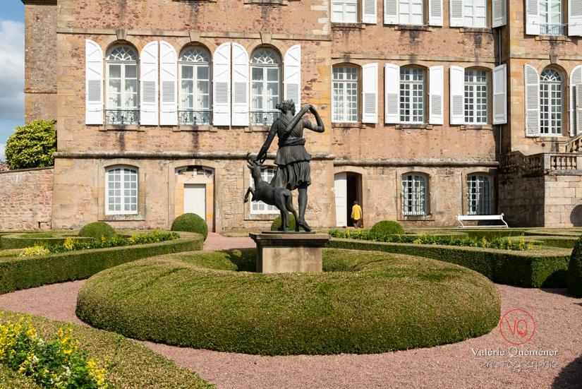 Jardins du château de Drée, en Bourgogne Sud | © Valérie Quéméner - Réf : VQFR71-2889