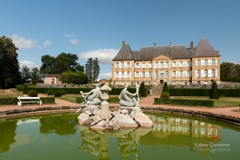 Jardins du château de Drée, en Bourgogne Sud | © Valérie Quéméner - Réf : VQFR71-2893