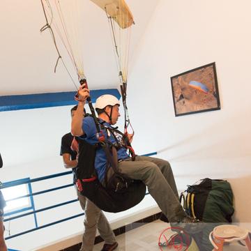 Module d'entraînement intérieur de parapente à Loudenvielle / Hautes-Pyrénées / Occitanie - Réf : VQ-PARA-0130 (Q3)