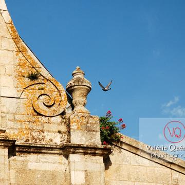 Détail de l'église St-Mathurin à Moncontour / Côtes d'Armor / Bretagne - Réf : VQFR22-0240 (Q1)
