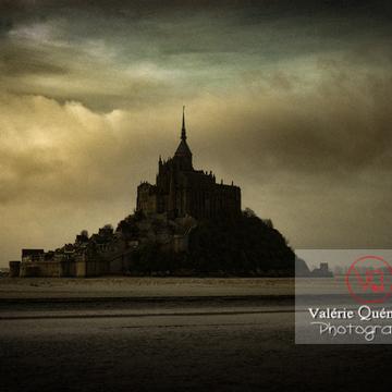 Mont-St-Michel et sa baie à marée basse - Réf : VQFR50-0022-TA (Q1)