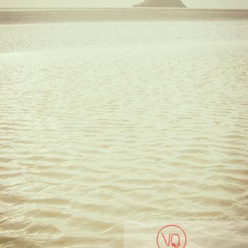 Mont-St-Michel et sa baie à marée basse - Réf : VQFR50-0032-TV (Q1)