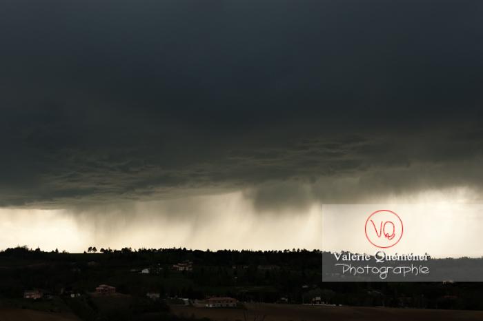 Ciel de pluie d'orage - Réf : VQ_CIEL-117 (Q1)
