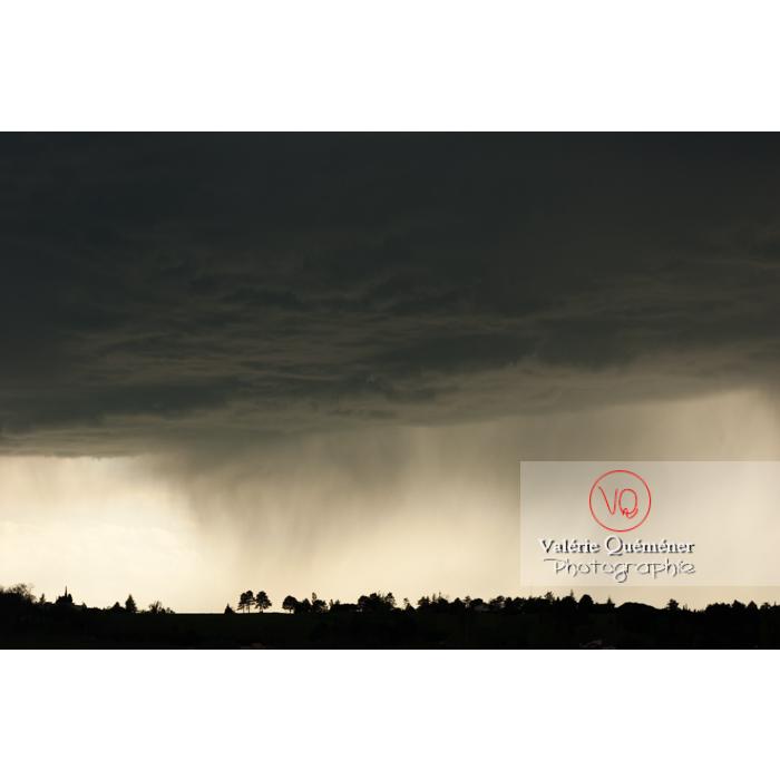 Ciel de pluie d'orage - Réf : VQ_CIEL-118 (Q1)