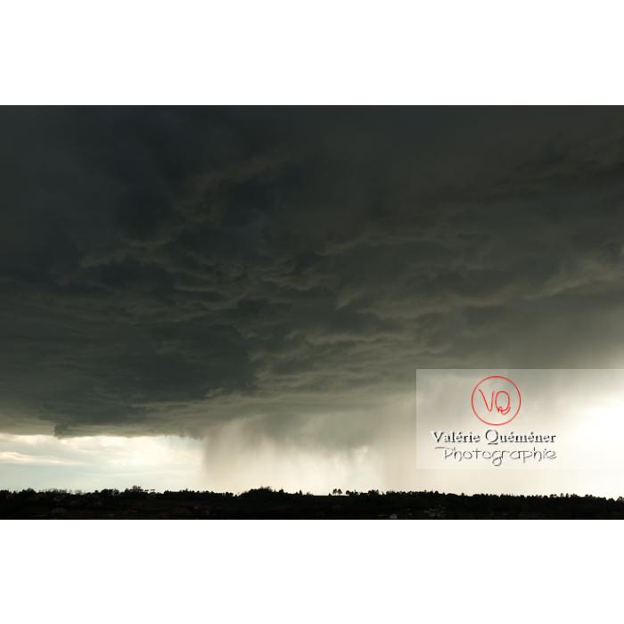 Ciel d'orage de pluie - Réf : VQ_CIEL-123 (Q1)