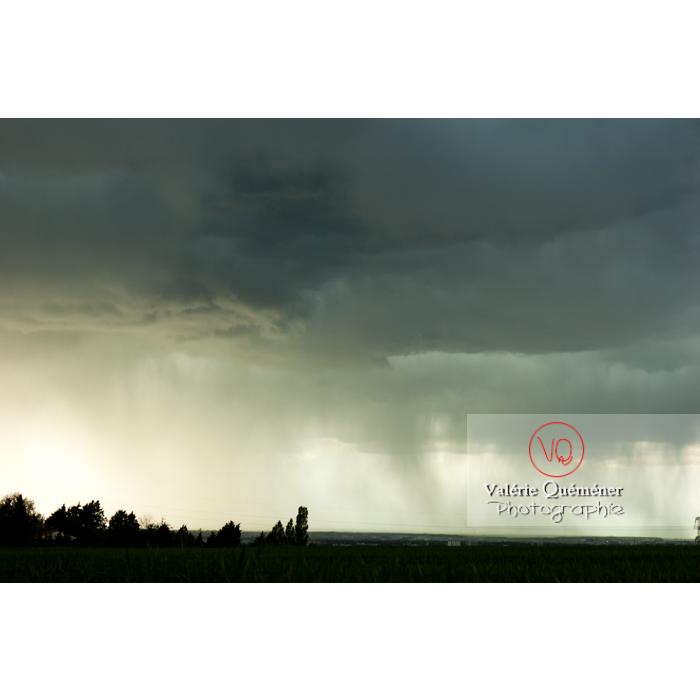 Ciel de pluie d'orage - Réf : VQ_CIEL-125 (Q1)