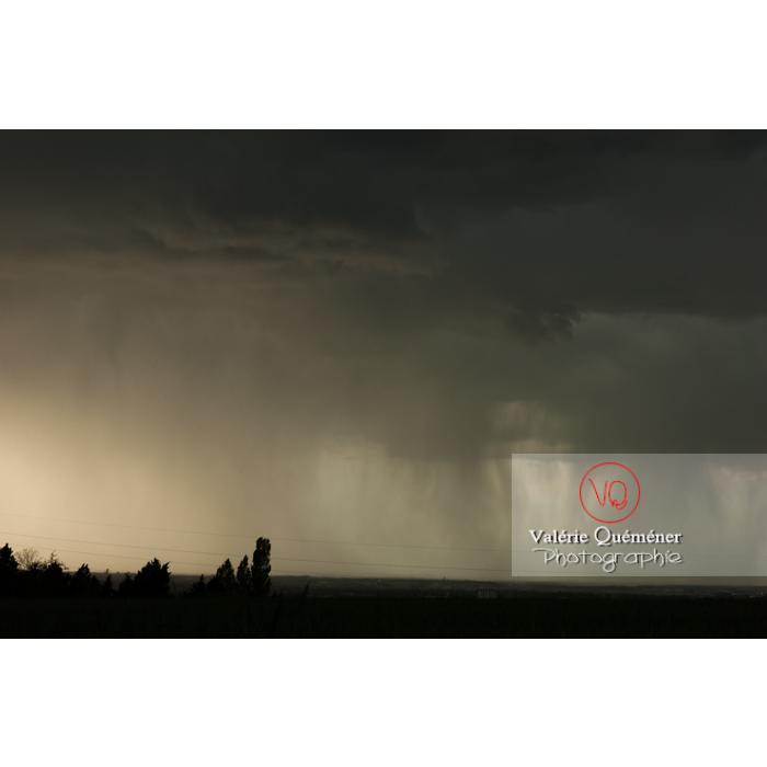 Ciel de pluie d'orage - Réf : VQ_CIEL-126 (Q1)