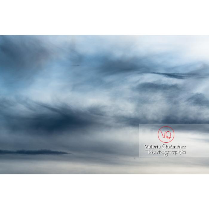 Ciel d'altostratus et cumulus - Réf : VQ-CIEL-1514 (Q3)