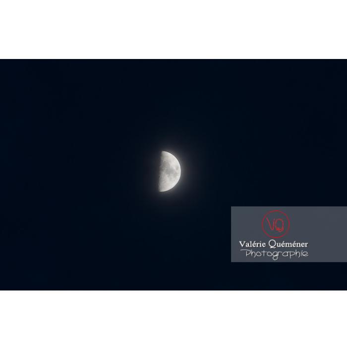 Demi lune par nuit noir - Réf : VQ-CIEL-1570 (Q3)