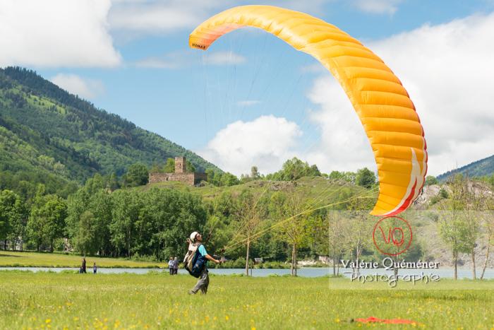 Site de gonflage de parapente à Loudenvielle / Hautes-Pyrénées / Occitanie - Réf : VQ-PARA-0531 (Q3)