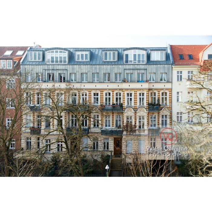 Immeuble en pierre de style renaissance et toit en zinc, Berlin / Allemagne - Réf : VQALL_BL-0010 (Q3)
