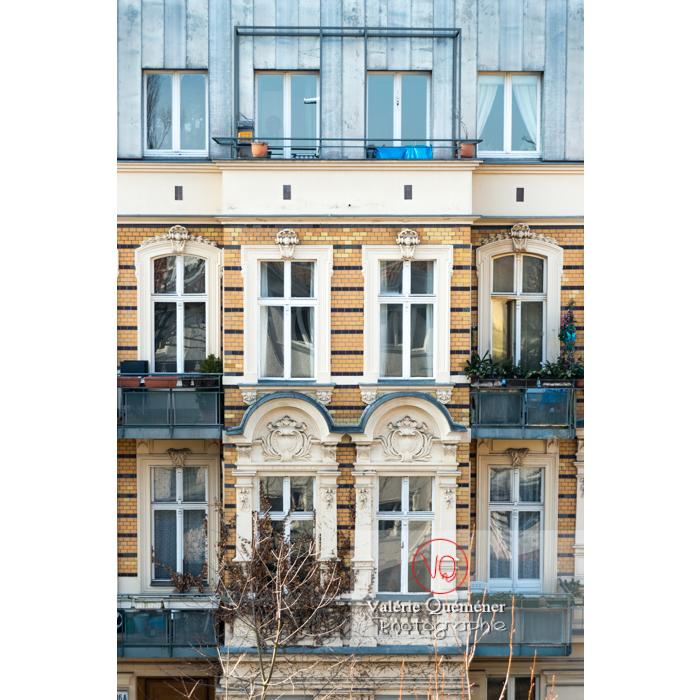 Immeuble en pierre de style renaissance et toit en zinc, Berlin / Allemagne - Réf : VQALL_BL-0011 (Q3)
