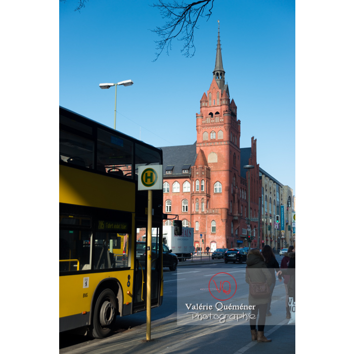 Station de bus, Berlin / Allemagne - Réf : VQALL_BL-0016 (Q3)