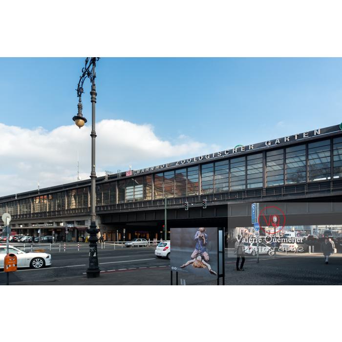 Pont métro / U-Bahn Bahnhof Zoologischer Garten, Berlin / Allemagne - Réf : VQALL_BL-0022 (Q3)