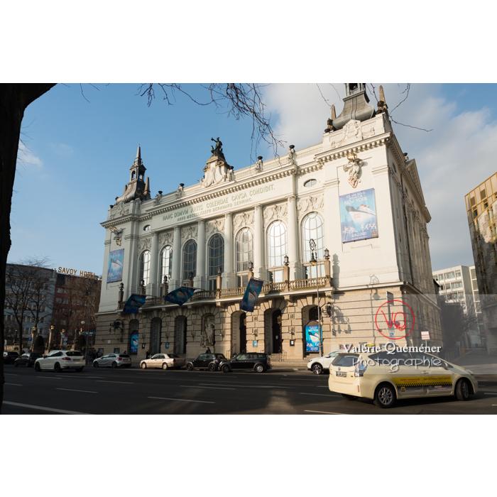 Théâtre des Westens sur la Kantstraße, Berlin / Allemagne - Réf : VQALL_BL-0027 (Q3)