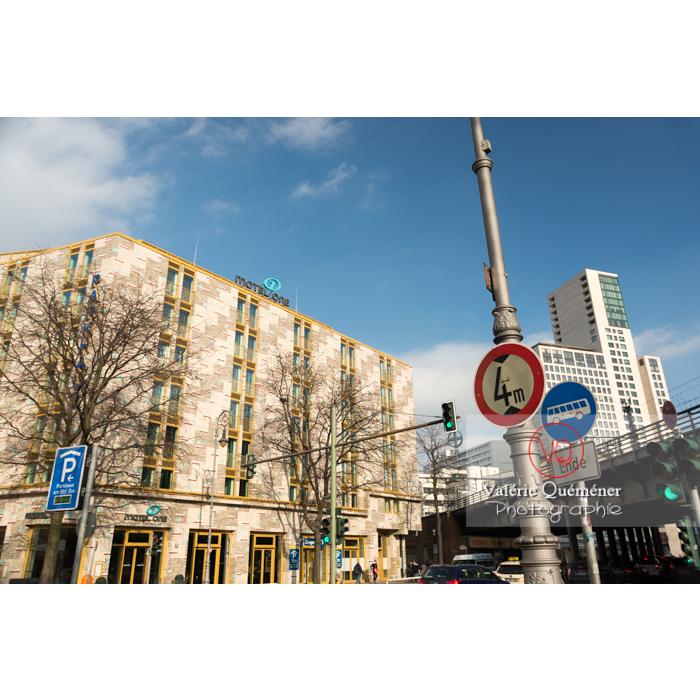 Rue de Berlin / Allemagne - Réf : VQALL_BL-0028 (Q3)