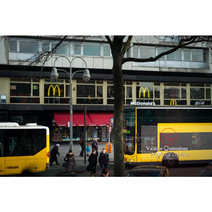 Bus jaune, Berlin / Allemagne - Réf : VQALL_BL-0036 (Q3)