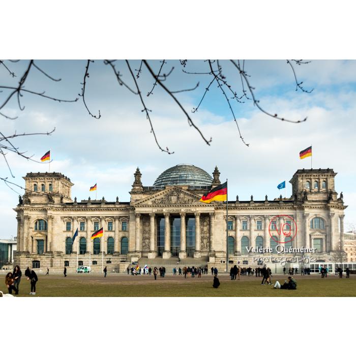 Reichstag, Berlin / Allemagne - Réf : VQALL_BL-0042 (Q3)
