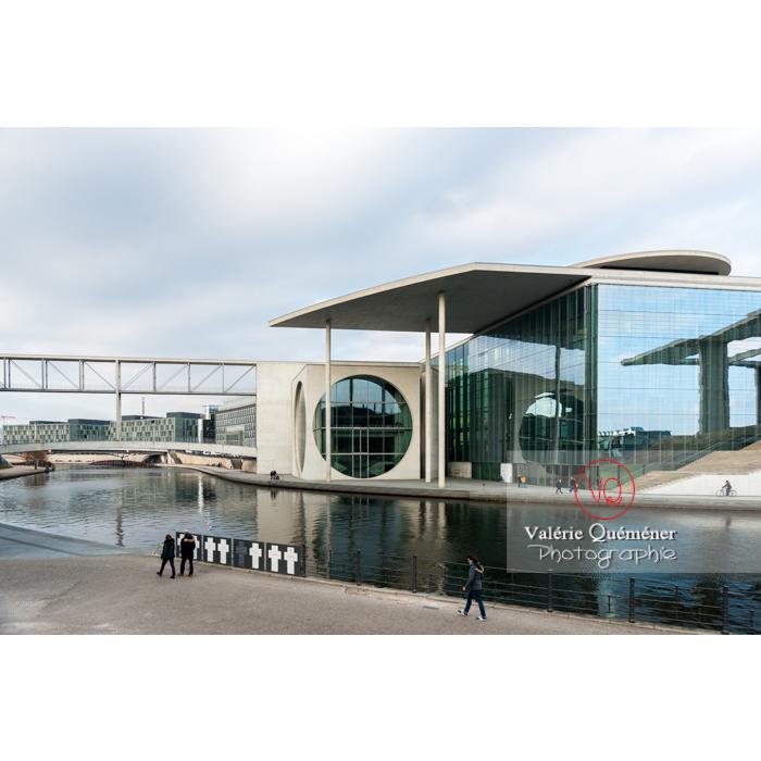 Bâtiment Pole Lobe Haus, quartier Band des Bundes au bord de la rivière Spree, Berlin / Allemagne - Réf : VQALL_BL-0044 (Q3)