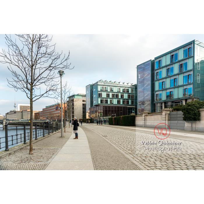 Quartier Band des Bundes et rivière , Berlin / Allemagne - Réf : VQALL_BL-0049 (Q3)