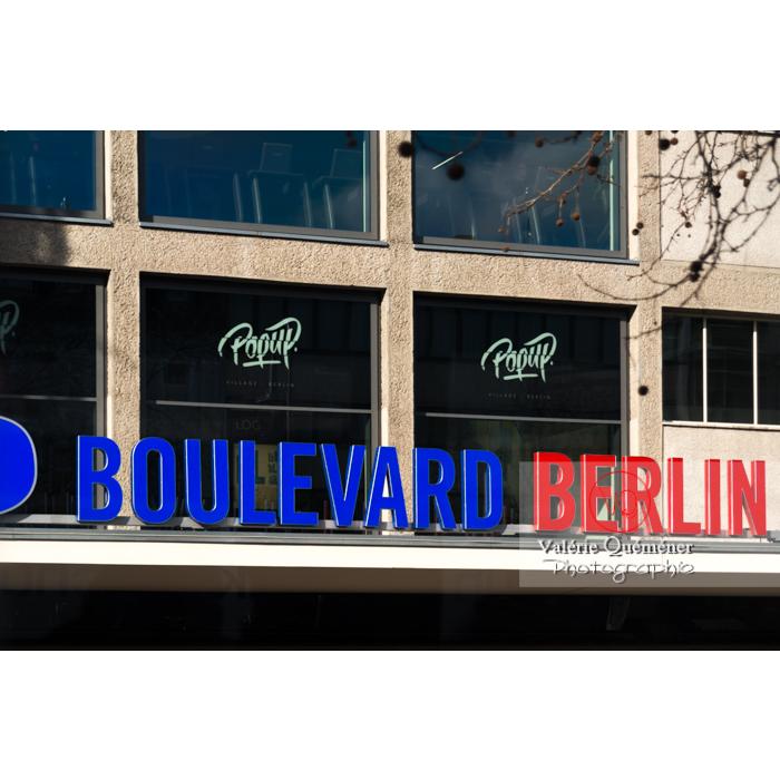Typo / Enseigne 'Berlin' à Berlin / Allemagne - Réf : VQALL_BL-0057 (Q3)