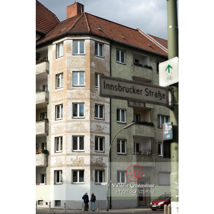 Immeuble, Berlin / Allemagne - Réf : VQALL_BL-0058 (Q3)
