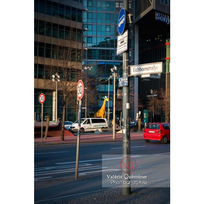 Potsdamer Straße, Berlin / Allemagne - Réf : VQALL_BL-0081 (Q3)