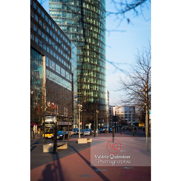 Boulevard des stars, Potsdamer Straße, Berlin / Allemagne - Réf : VQALL_BL-0084 (Q3)