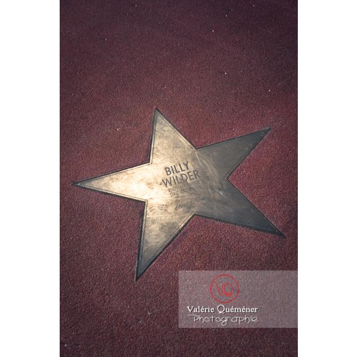 Étoile du sol du boulevard des stars, Potsdamer Straße, Berlin / Allemagne - Réf : VQALL_BL-0087 (Q3)