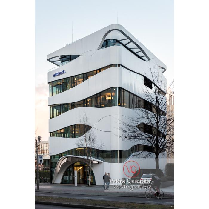 Fondation Otto Bock par l'architecte Gnädinger, Postdamer Platz, Berlin / Allemagne - Réf : VQALL_BL-0108 (Q3)