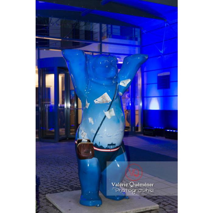 Buddy Bear à Berlin - Réf : VQALL_BL-0143 (Q3)