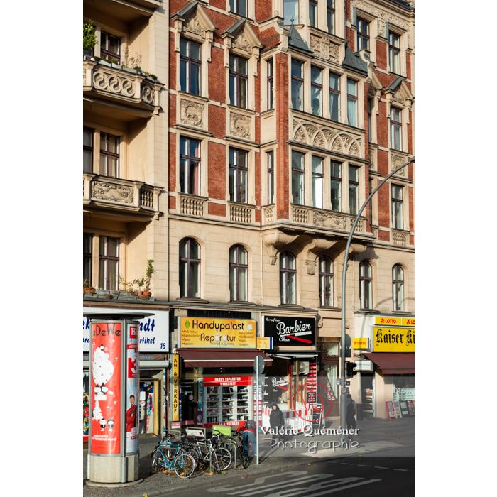 Rue commerçante à Berlin / Allemagne - Réf : VQALL_BL-0172 (Q3)
