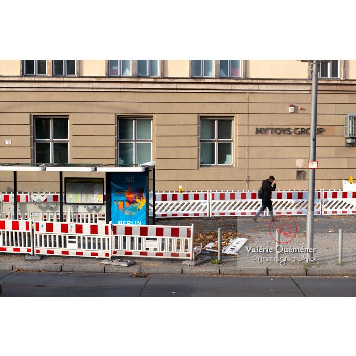 Graphisme urbain, Berlin / Allemagne - Réf : VQALL_BL-0174 (Q3)