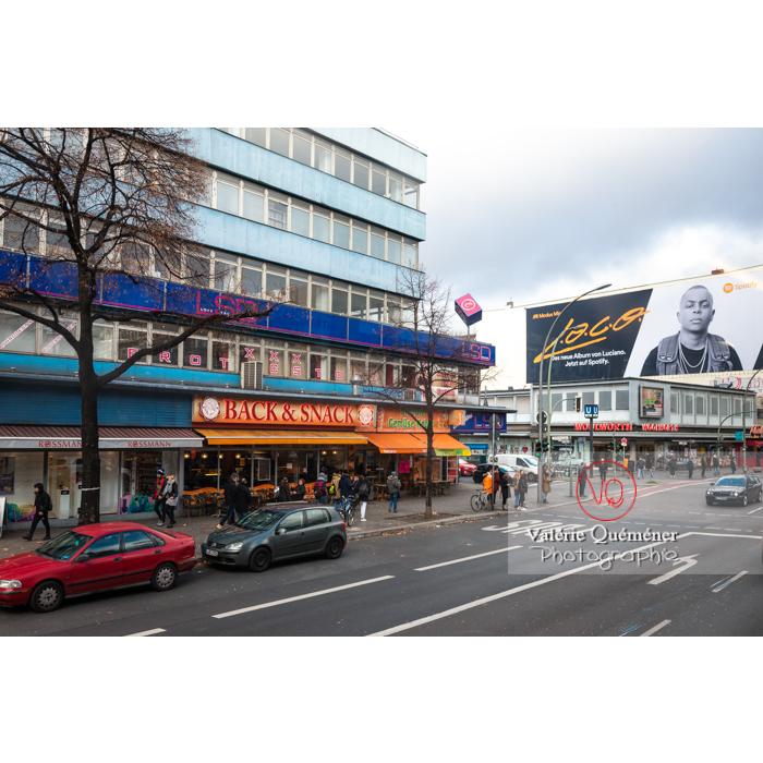 Rue commerçante à Berlin / Allemagne - Réf : VQALL_BL-0178 (Q3)