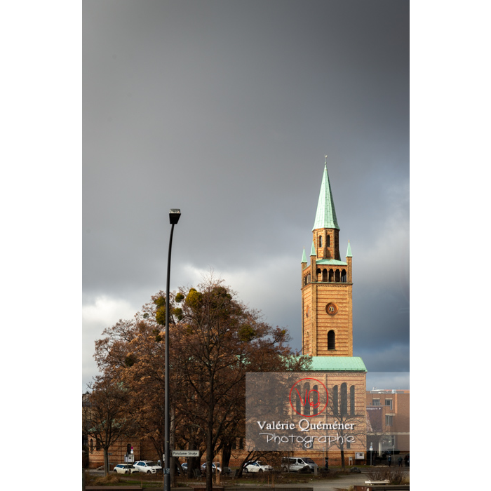 Eglise protestante St-Matthäus-Kirche, Berlin / Allemagne - Réf : VQALL_BL-0180 (Q3)