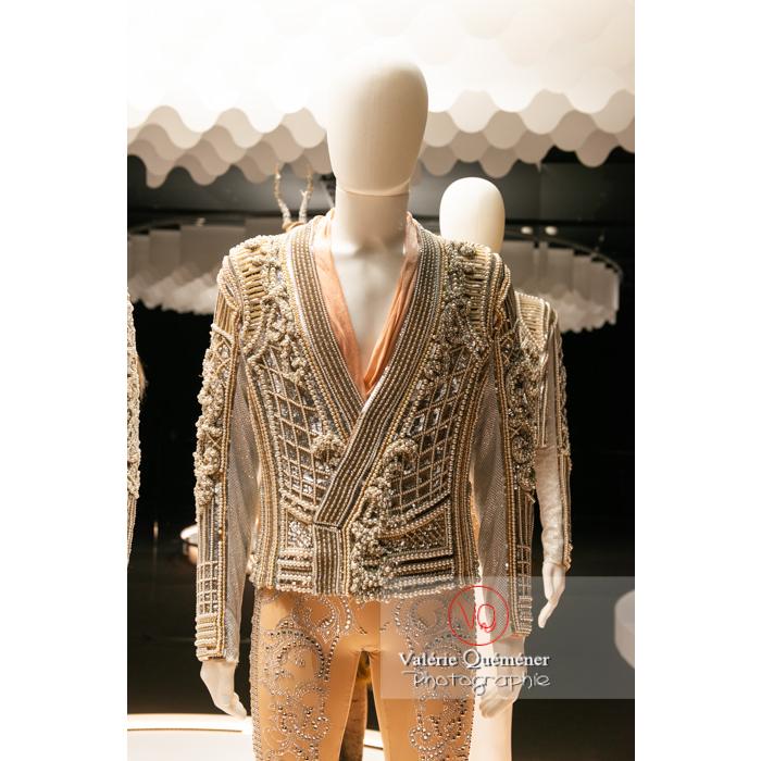 Costume en perle d'Olivier Rousteing / Balmain pour Renaissance de Sébastien Bertaud, Opéra National de Paris, 2017 - Réf : VQFR03-0379 (Q3)
