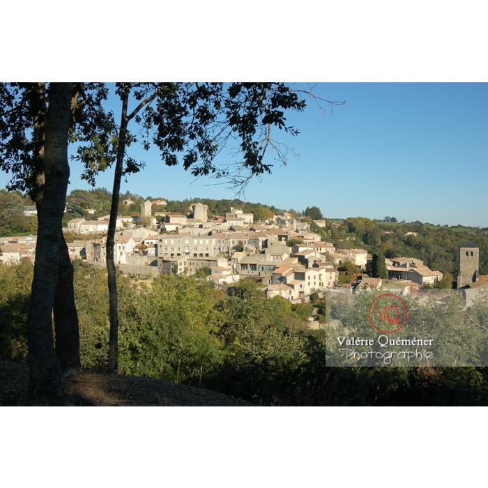 Village de Saissac en Pays Cathare / Aude / Occitanie - Réf : VQFR11-0075 (Q1)