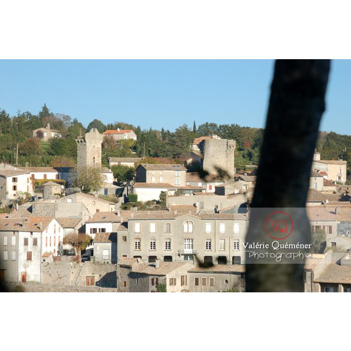 Village de Saissac en Pays Cathare / Aude / Occitanie - Réf : VQFR11-0077 (Q1)