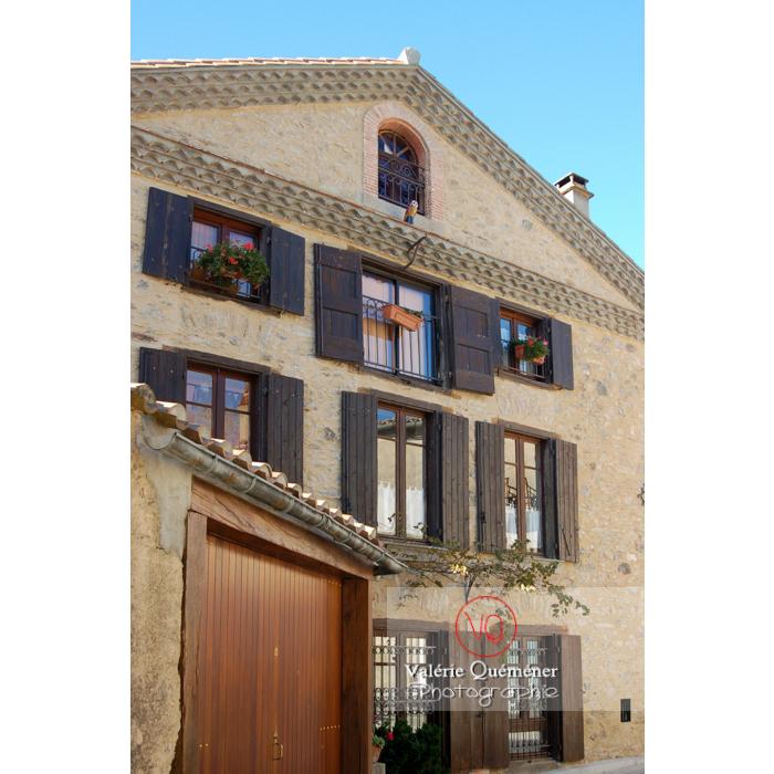 Maison du village de Saissac en Pays Cathare / Aude / Occitanie - Réf : VQFR11-0081 (Q1)