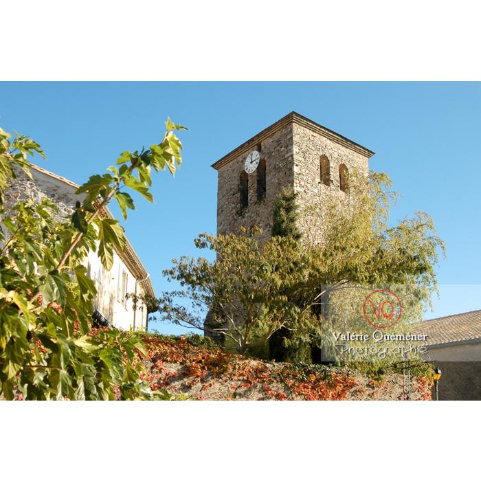 Église St-Michel du village de Saissac, en Pays Cathare / Aude / Occitanie - Réf : VQFR11-0084 (Q1)