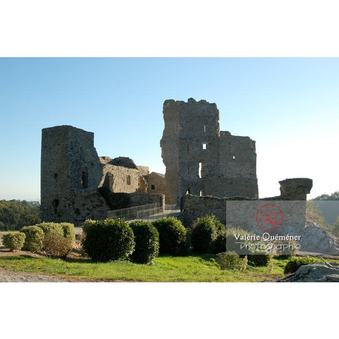 Château de Saissac en Pays Cathare / Aude / Occitanie - Réf : VQFR11-0085 (Q1)