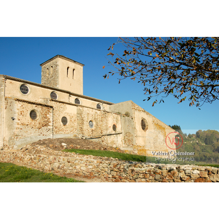 Église St-Michel du village de Saissac, en Pays Cathare / Aude / Occitanie - Réf : VQFR11-0086 (Q1)