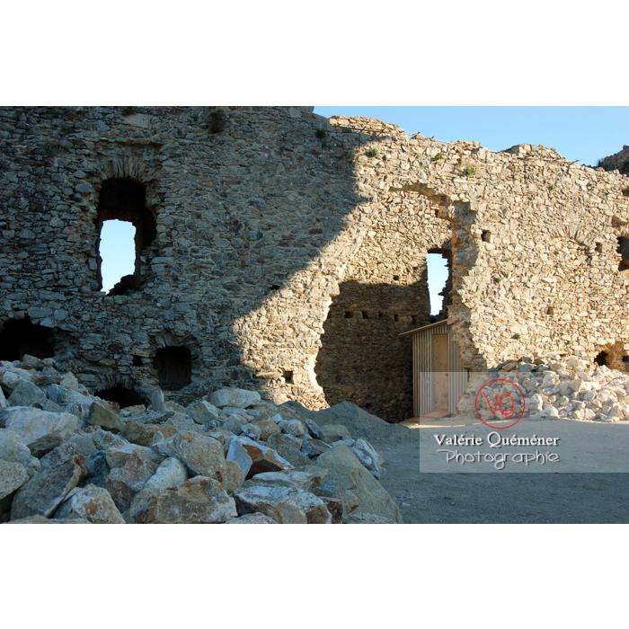 Ruines du château de Saissac en Pays Cathare / Aude / Occitanie - Réf : VQFR11-0088 (Q1)