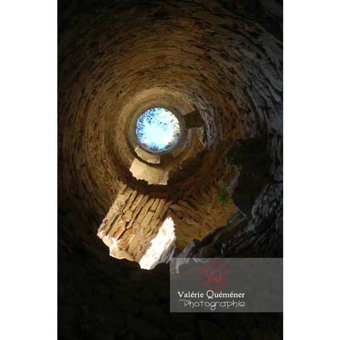 Tour du château de Saissac en Pays Cathare / Aude / Occitanie - Réf : VQFR11-0098 (Q1)