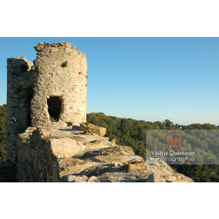Ruines du château de Saissac en Pays Cathare / Aude / Occitanie - Réf : VQFR11-0114 (Q1)