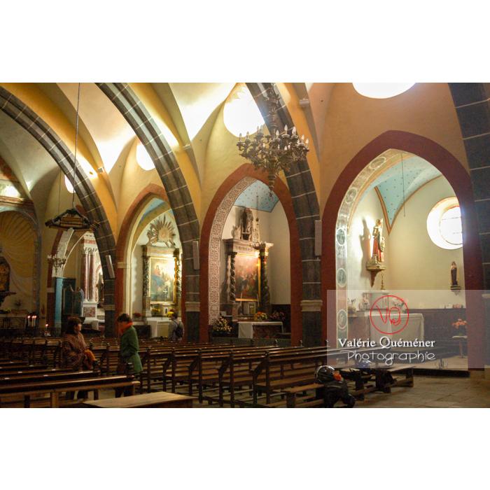 Église St-Michel du village de Saissac, en Pays Cathare / Aude / Occitanie - Réf : VQFR11-0121 (Q1)