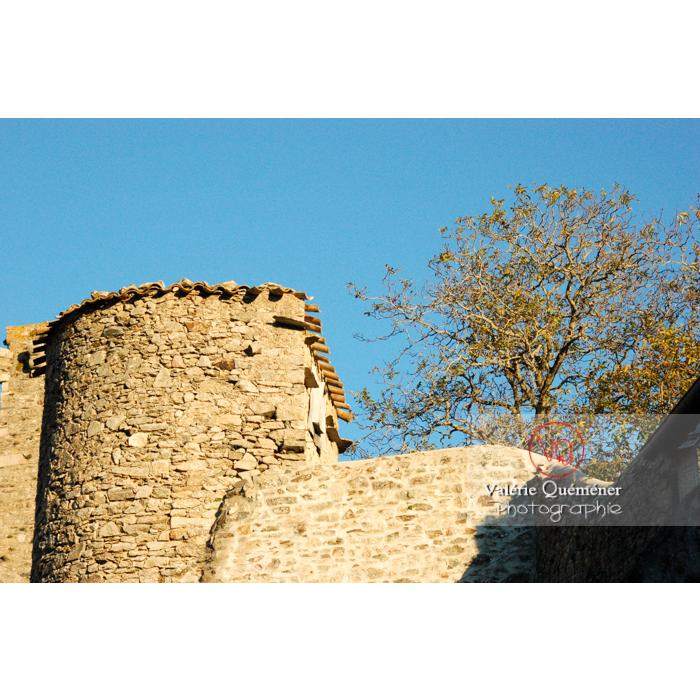Village de Saissac, en Pays Cathare / Aude / Occitanie - Réf : VQFR11-0131 (Q1)
