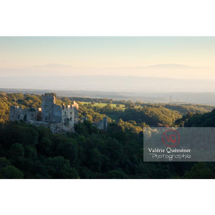 Château de Saissac en Pays Cathare / Aude / Occitanie - Réf : VQFR11-0132 (Q1)